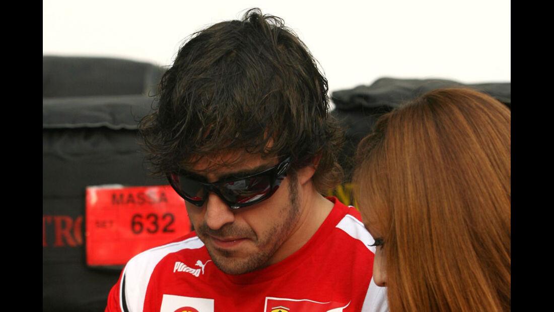 Fernando Alonso - GP Singapur - 24. September 2011
