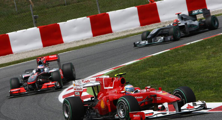 Fernando Alonso GP Spanien 2010