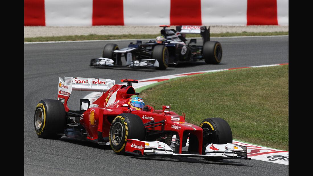 Fernando Alonso GP Spanien 2012