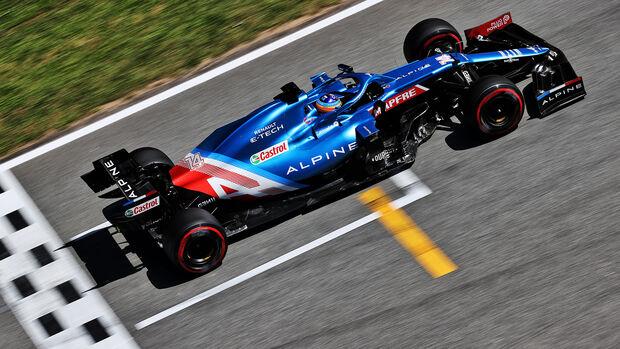 Fernando Alonso - GP Spanien 2021