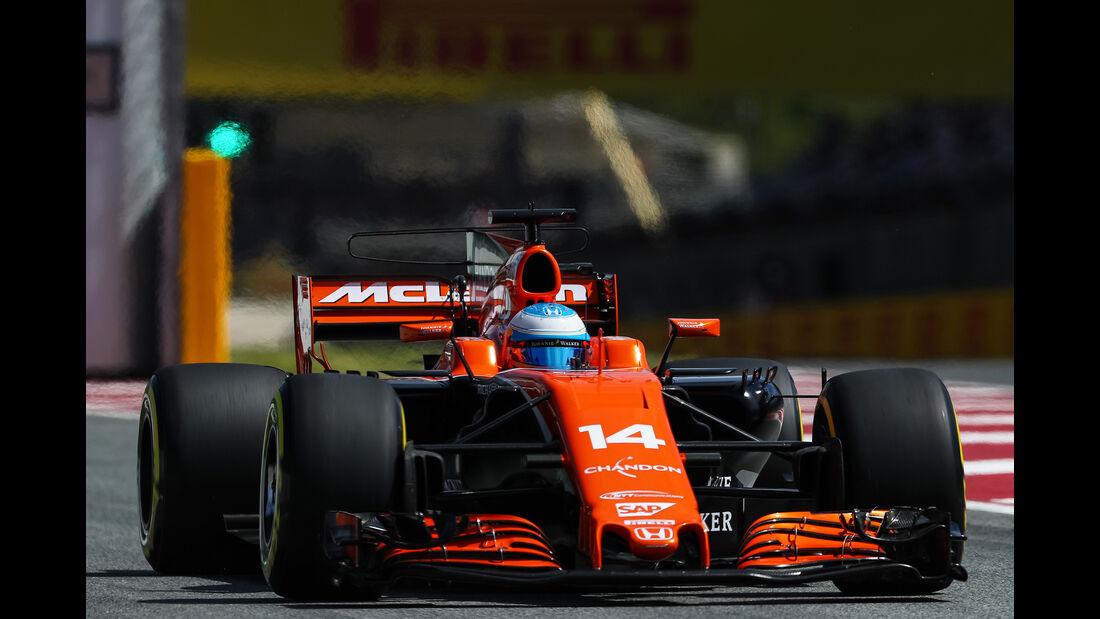 Fernando Alonso - GP Spanien - Formel 1 - 2017