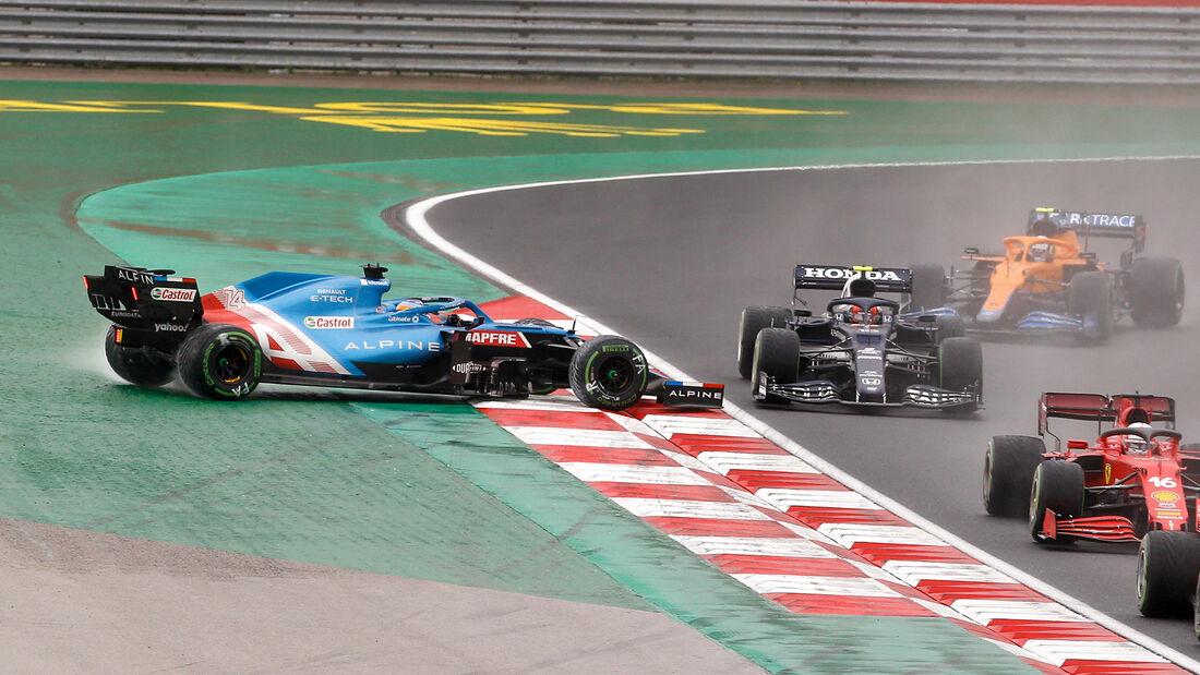 Fernando Alonso - GP Türkei 2021