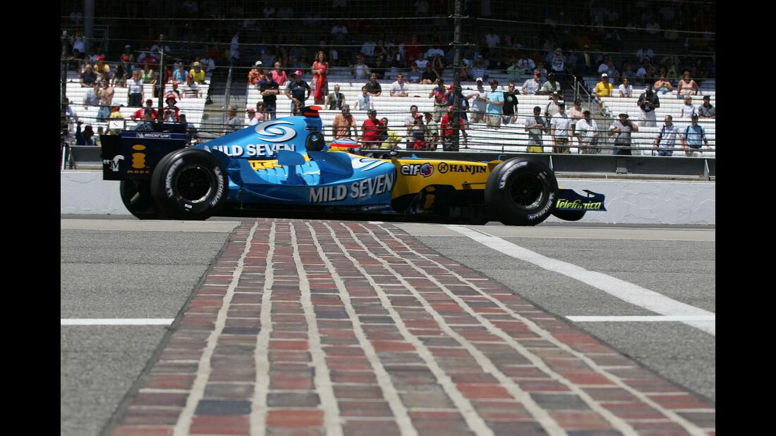 Fernando Alonso - GP USA 2005