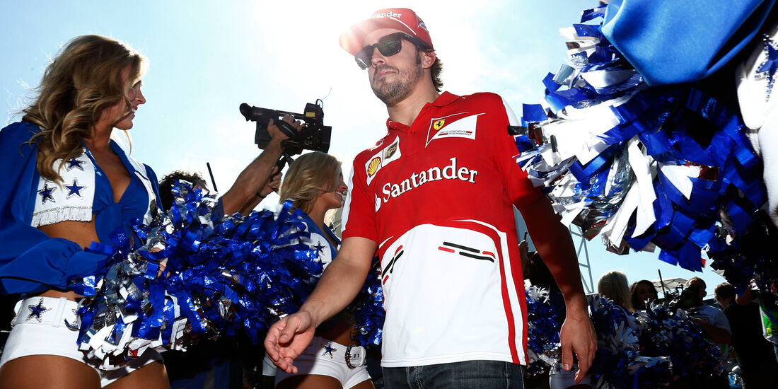 Fernando Alonso - GP USA 2013