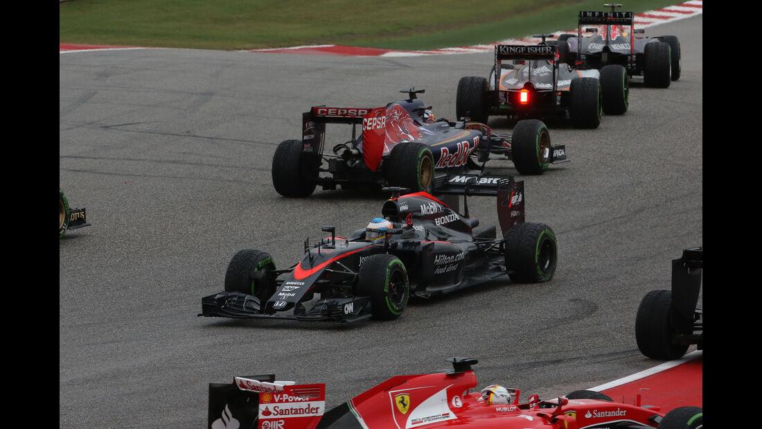 Fernando Alonso - GP USA 2015