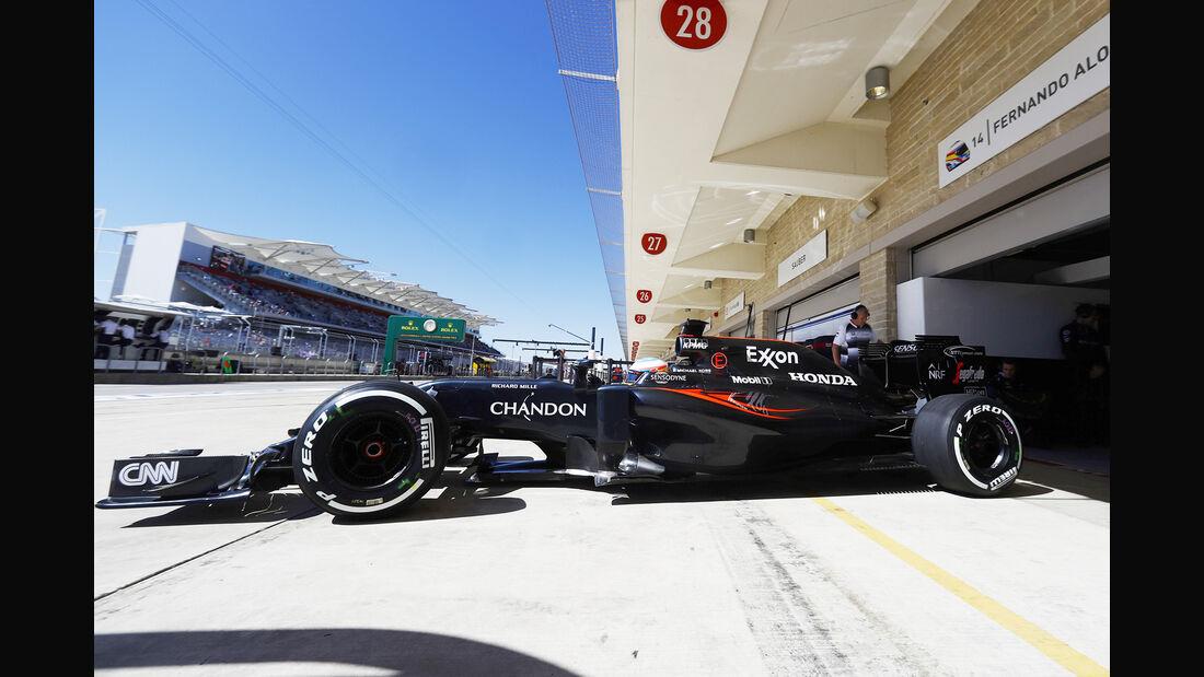 Fernando Alonso - GP USA 2016