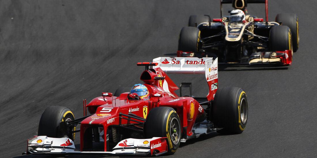 Fernando Alonso GP Ungarn 2012