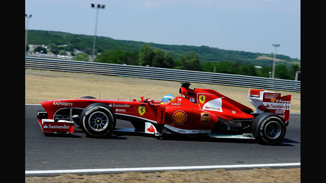 Fernando Alonso GP Ungarn 2013