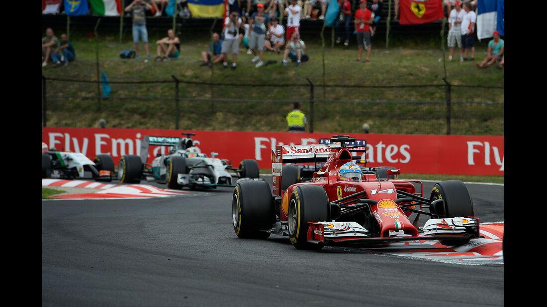 Fernando Alonso - GP Ungarn 2014