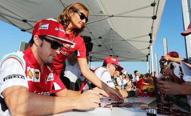 Fernando Alonso GP Ungarn 2014