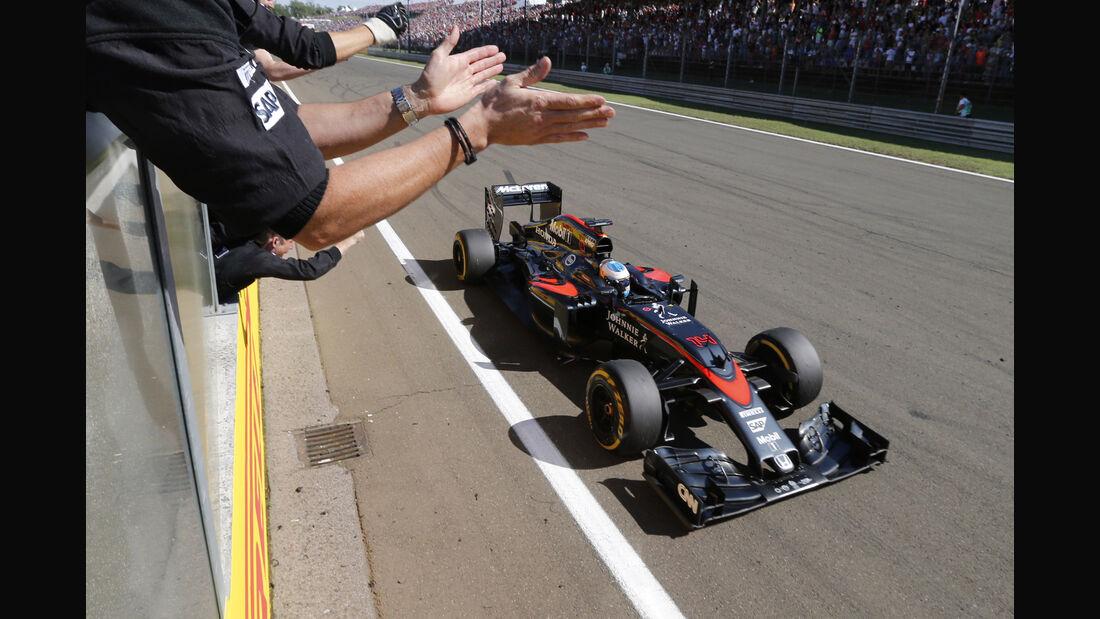 Fernando Alonso - GP Ungarn 2015