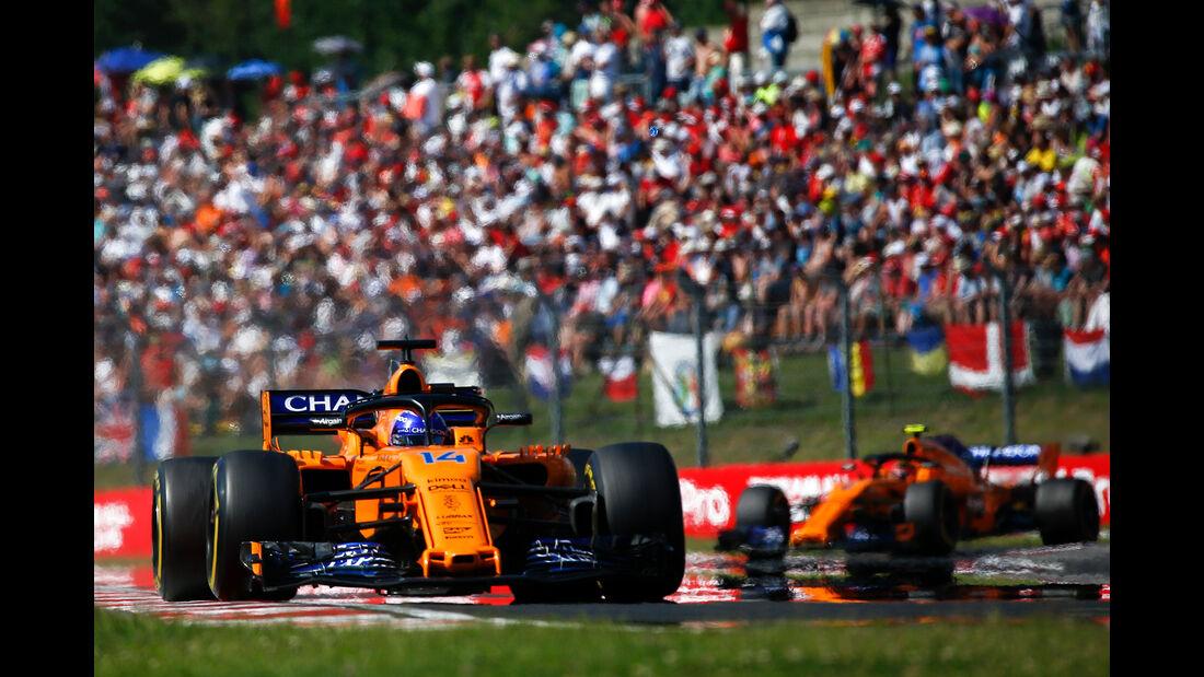 Fernando Alonso - GP Ungarn 2018