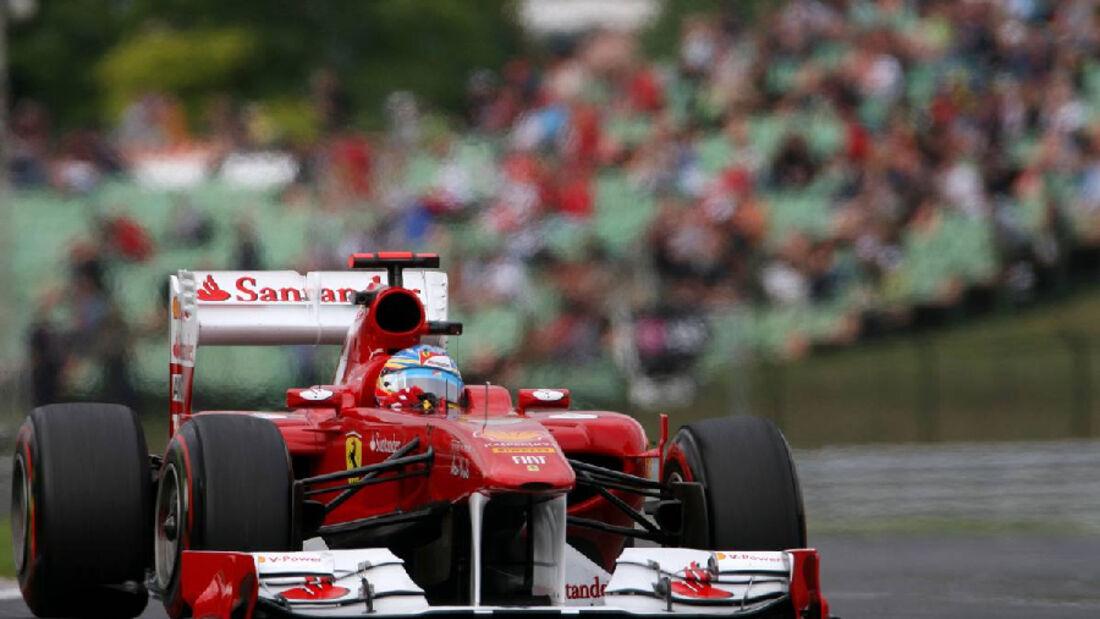 Fernando Alonso - GP Ungarn - Formel 1 - 29.7.2011