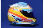 Fernando Alonso Helm 2013