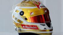 Fernando Alonso Helm GP Monaco 2012