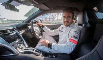 Fernando Alonso - Honda NSX - 2016