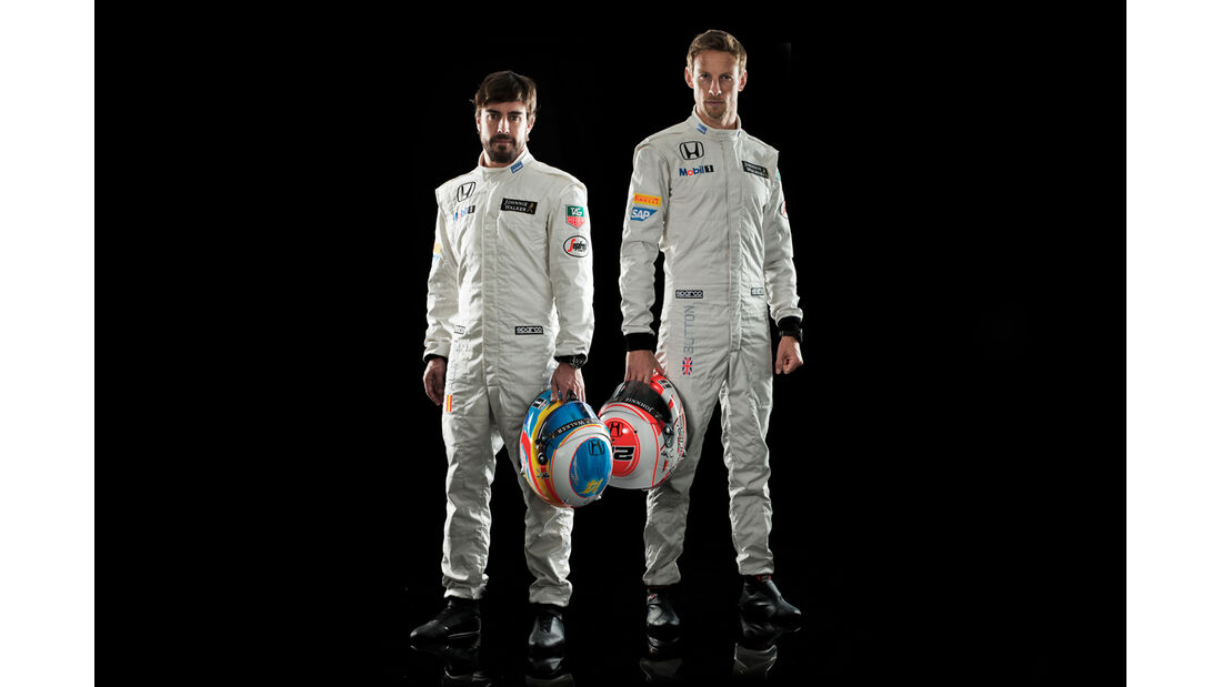 Fernando Alonso & Jenson Button - McLaren - Porträt 2015