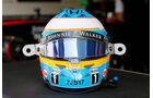 Fernando Alonso - Jules Bianchi-Aufkleber - GP Ungarn 2015