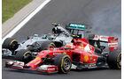 Fernando Alonso - Lewis Hamilton - Formel 1 - GP Ungarn - 27. Juli 2014