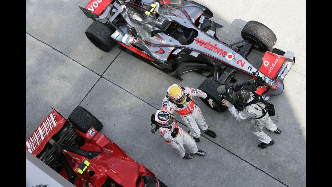 Fernando Alonso - Lewis Hamilton - McLaren - GP Malaysia 2007