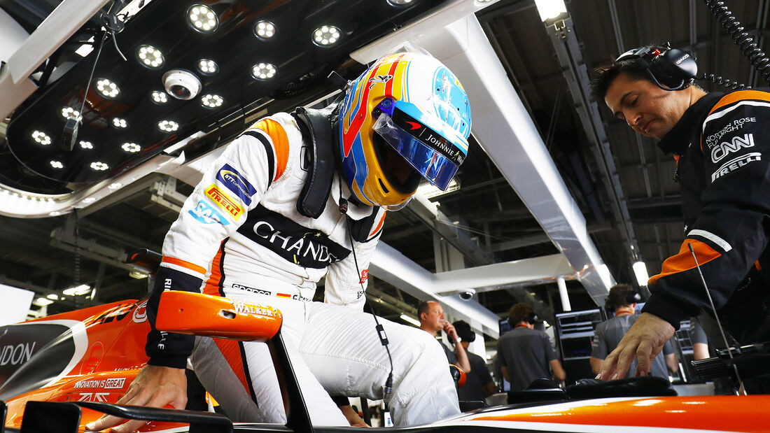 Fernando Alonso - McLaren - 2017