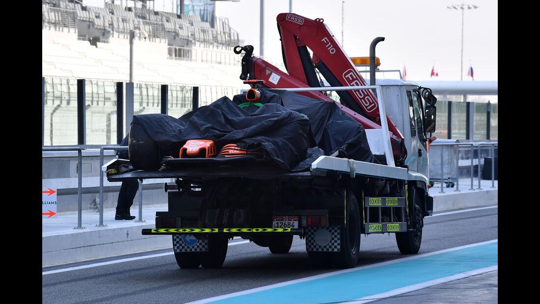 Fernando Alonso - McLaren - Abu Dhabi - Test 1 - 28. November 2017