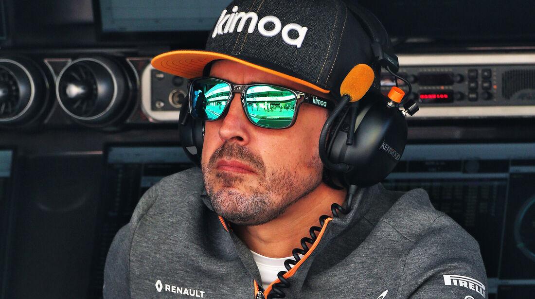 Fernando Alonso - McLaren - Barcelona - F1-Test - 27. Februar 2019