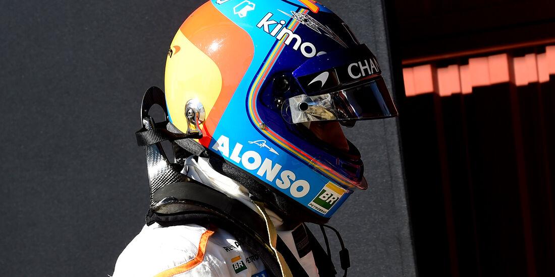 Fernando Alonso - McLaren - F1-Test - 2018