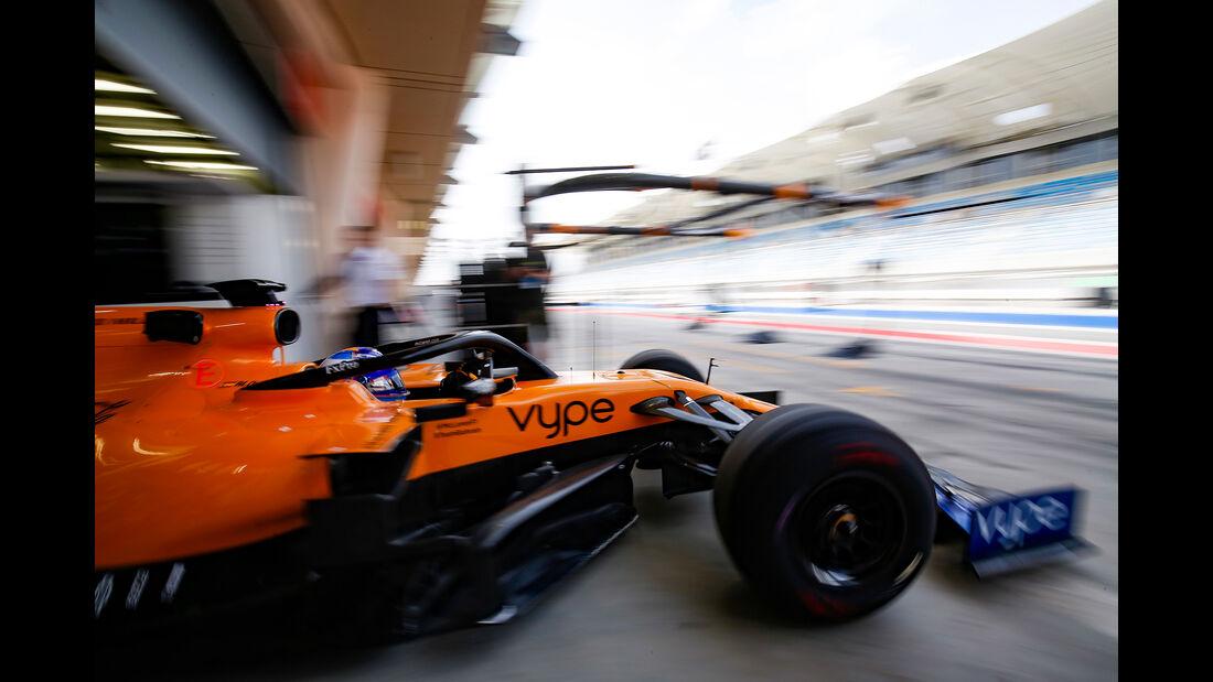Fernando Alonso - McLaren - F1-Test - Bahrain - 2. April 2019