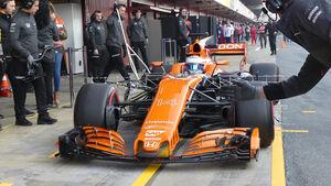 Fernando Alonso - McLaren - F1-Test - Barcelona - 27. Februar 2017