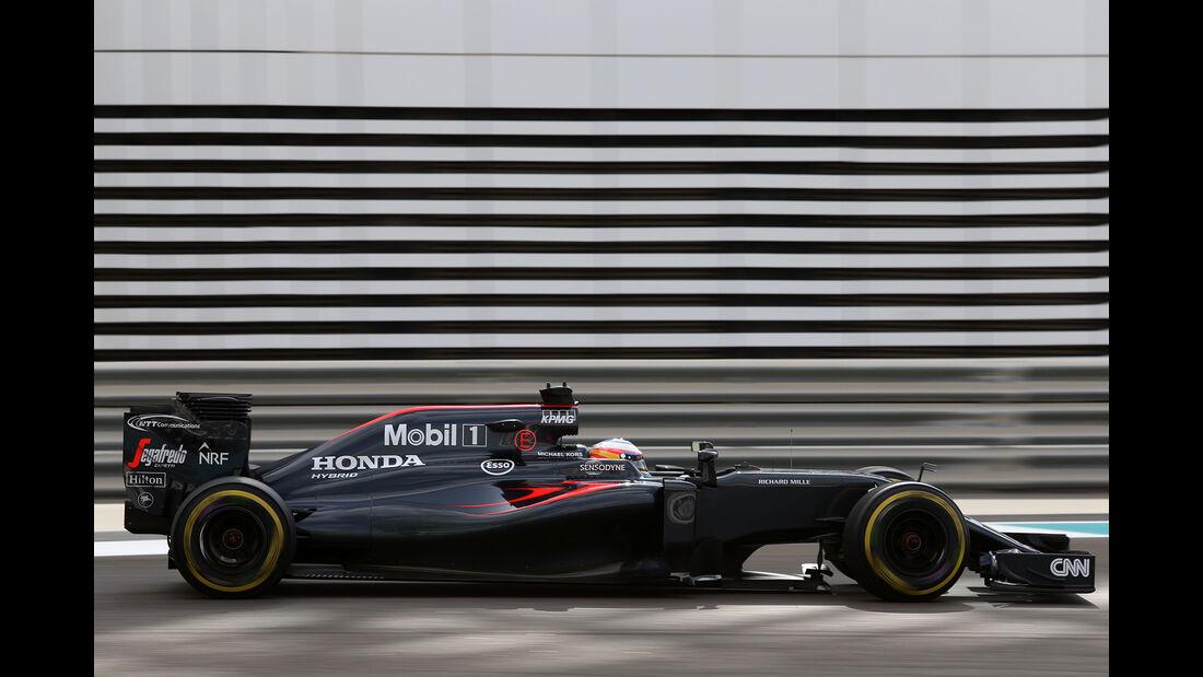 Fernando Alonso - McLaren - Formel 1 - GP Abu Dhabi - 25. November 2016