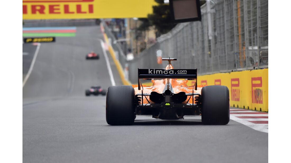 Fernando Alonso - McLaren - Formel 1 - GP Aserbaidschan - 28. April 2018