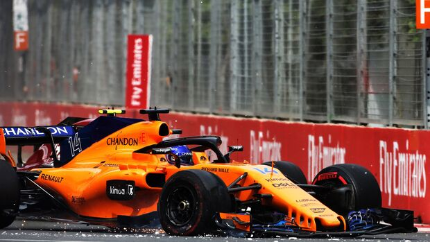Fernando Alonso - McLaren - Formel 1 - GP Aserbaidschan - 29. April 2018