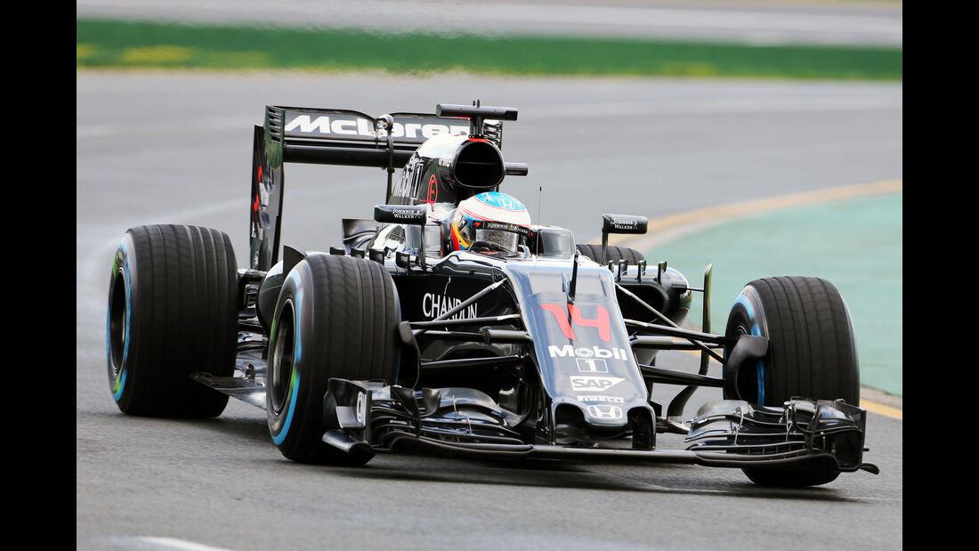 Fernando Alonso - McLaren - Formel 1 - GP Australien - Melbourne - 18. März 2016