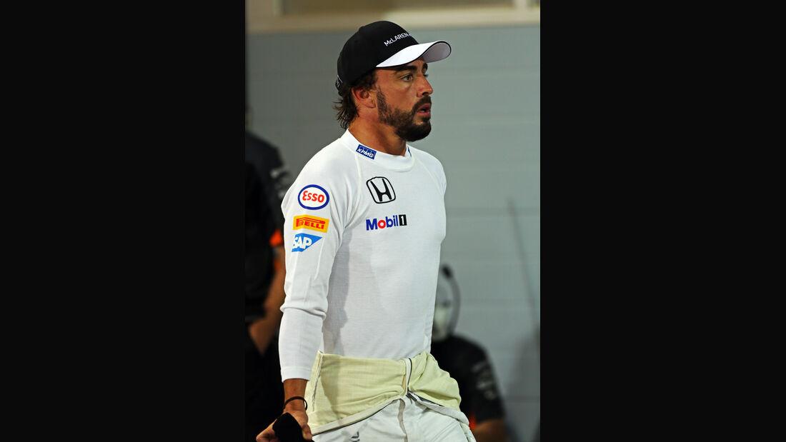Fernando Alonso - McLaren - Formel 1 - GP Bahrain - 18. April 2015