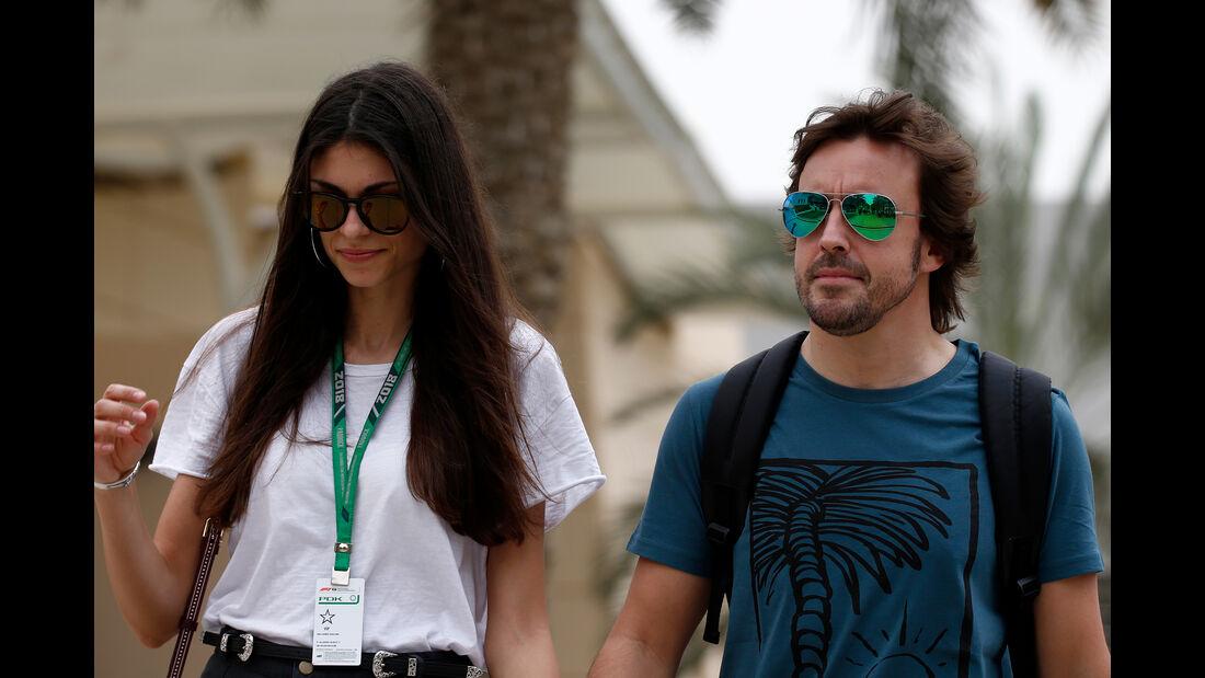 Fernando Alonso - McLaren - Formel 1 - GP Bahrain - 5. April 2018