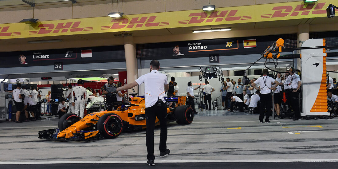 Fernando Alonso - McLaren - Formel 1 - GP Bahrain - 7. April 2018