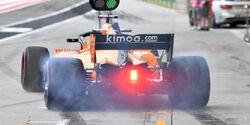 Fernando Alonso - McLaren - Formel 1 - GP Bahrain - Training - 6. April 2018