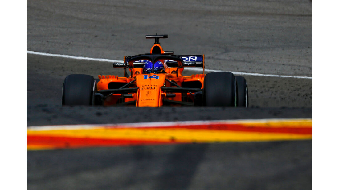 Fernando Alonso - McLaren - Formel 1 - GP Belgien - Spa-Francorchamps - 25. August 2018