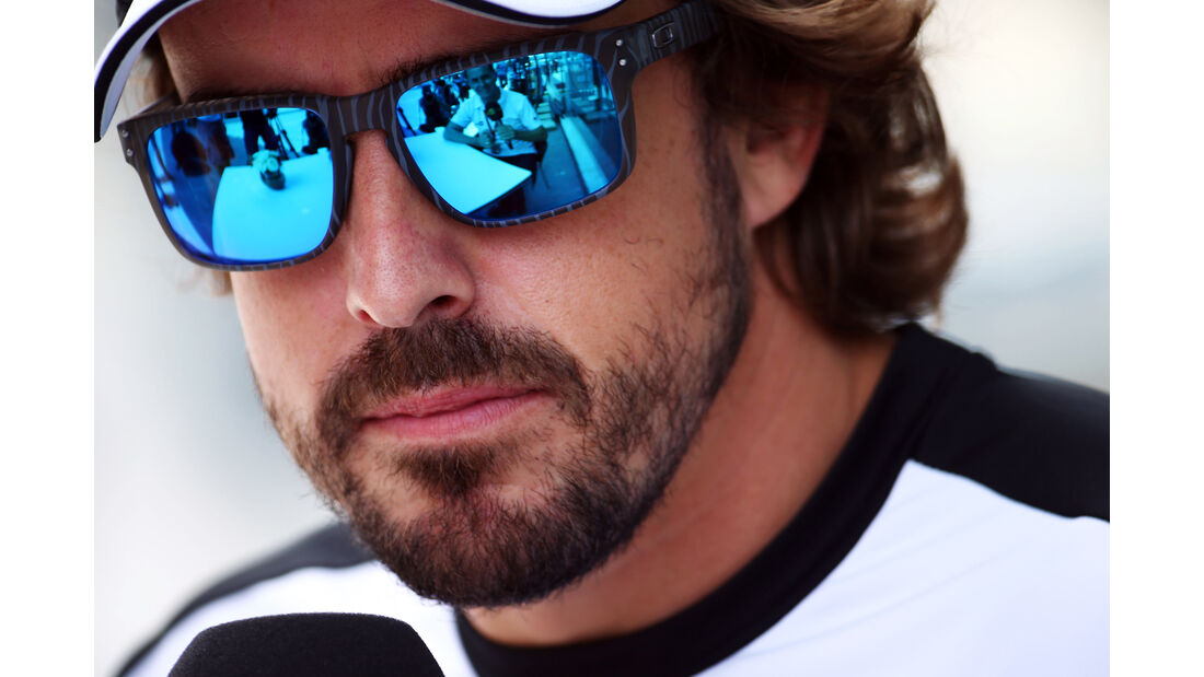 Fernando Alonso - McLaren - Formel 1 - GP Brasilien- 12. November 2015