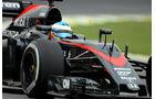 Fernando Alonso - McLaren - Formel 1 - GP Brasilien- 13. November 2015