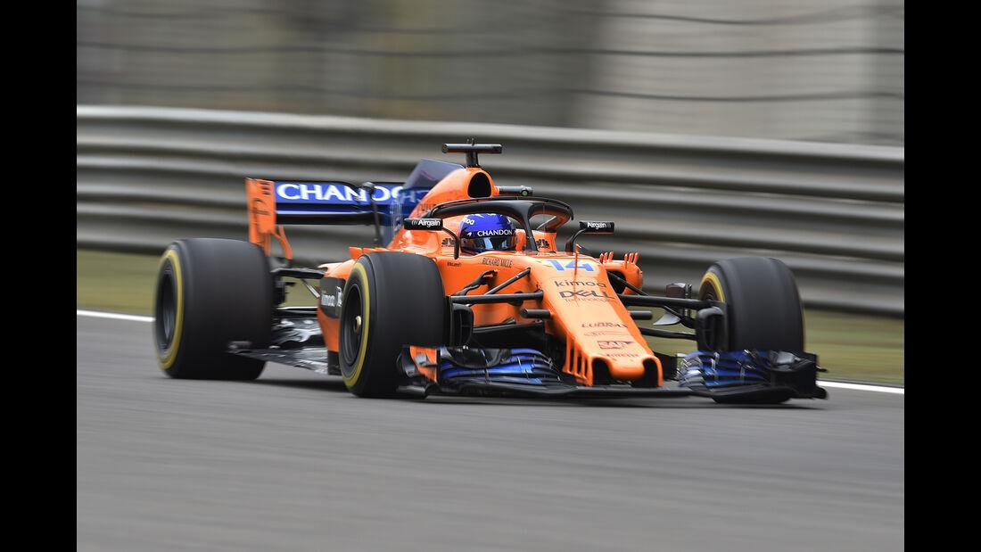 Fernando Alonso - McLaren - Formel 1 - GP China - Shanghai - 13. April 2017