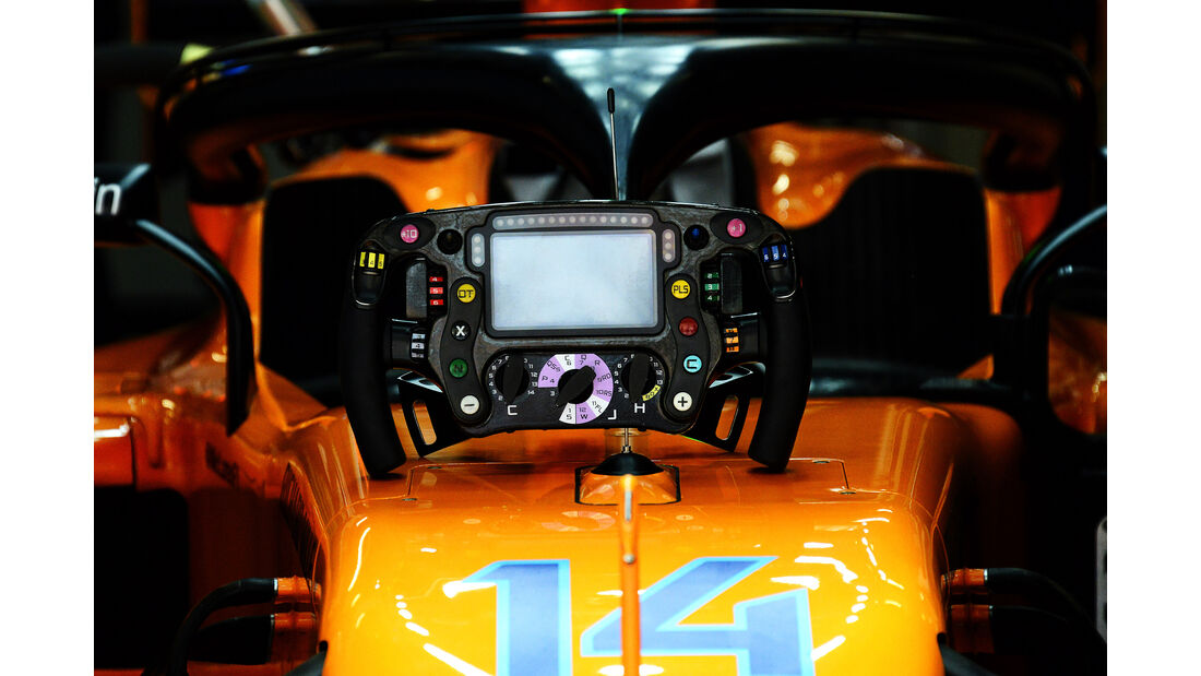 Fernando Alonso - McLaren - Formel 1 - GP China - Shanghai - 14. April 2018