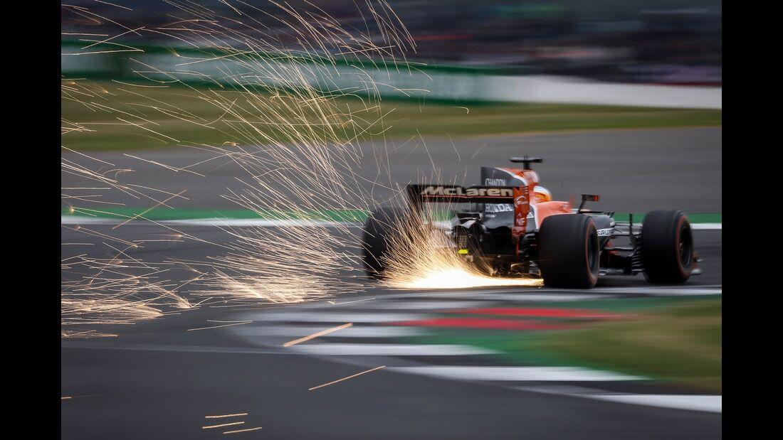 Fernando Alonso - McLaren - Formel 1 - GP England - 15. Juli 2017