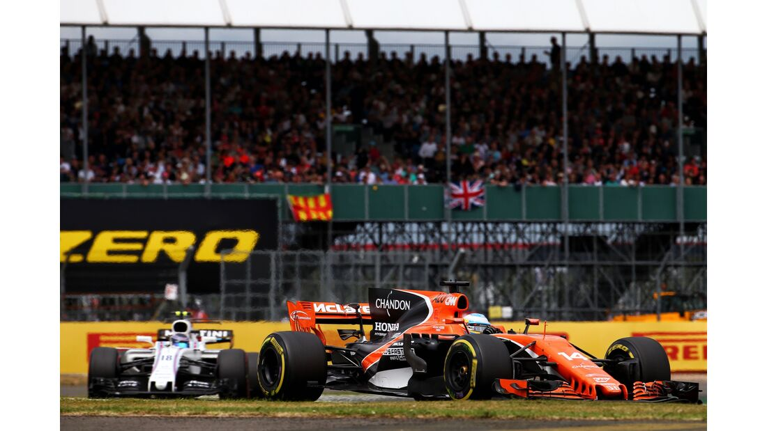 Fernando Alonso - McLaren - Formel 1 - GP England - 16. Juli 2017