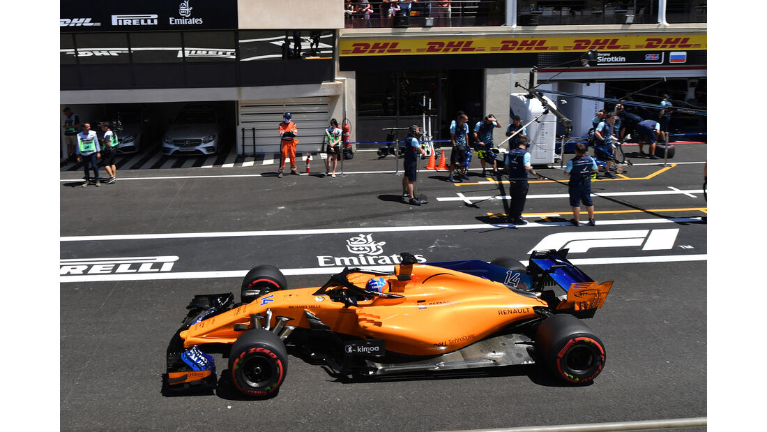 Fernando Alonso - McLaren - Formel 1 - GP Frankreich - Circuit Paul Ricard - 22. Juni 2018
