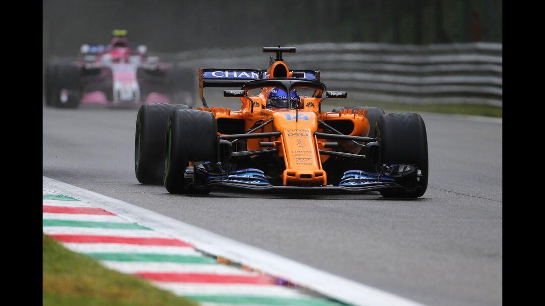 Fernando Alonso - McLaren - Formel 1 - GP Italien - 31. August 2018
