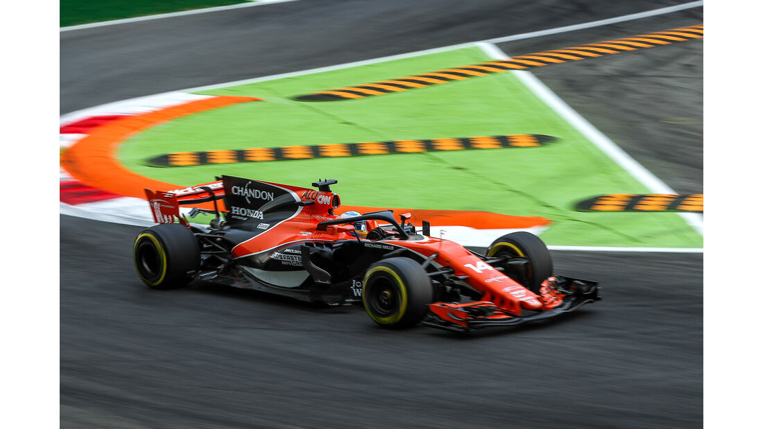 Fernando Alonso - McLaren - Formel 1 - GP Italien - Monza - 1. September 2017