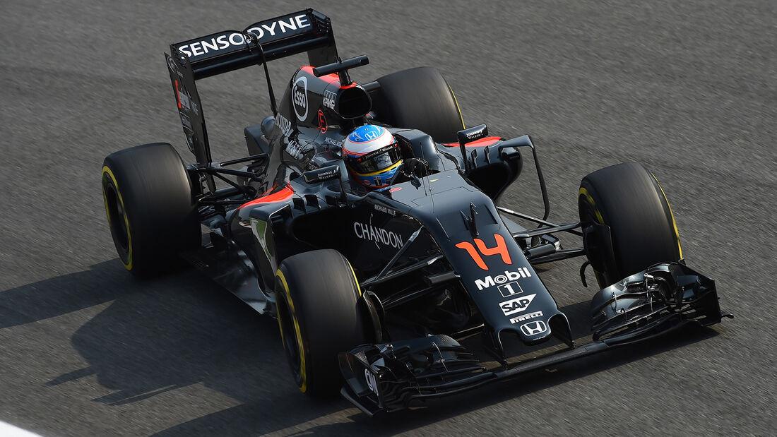 Fernando Alonso - McLaren - Formel 1 - GP Italien - Monza - 2. September 2016