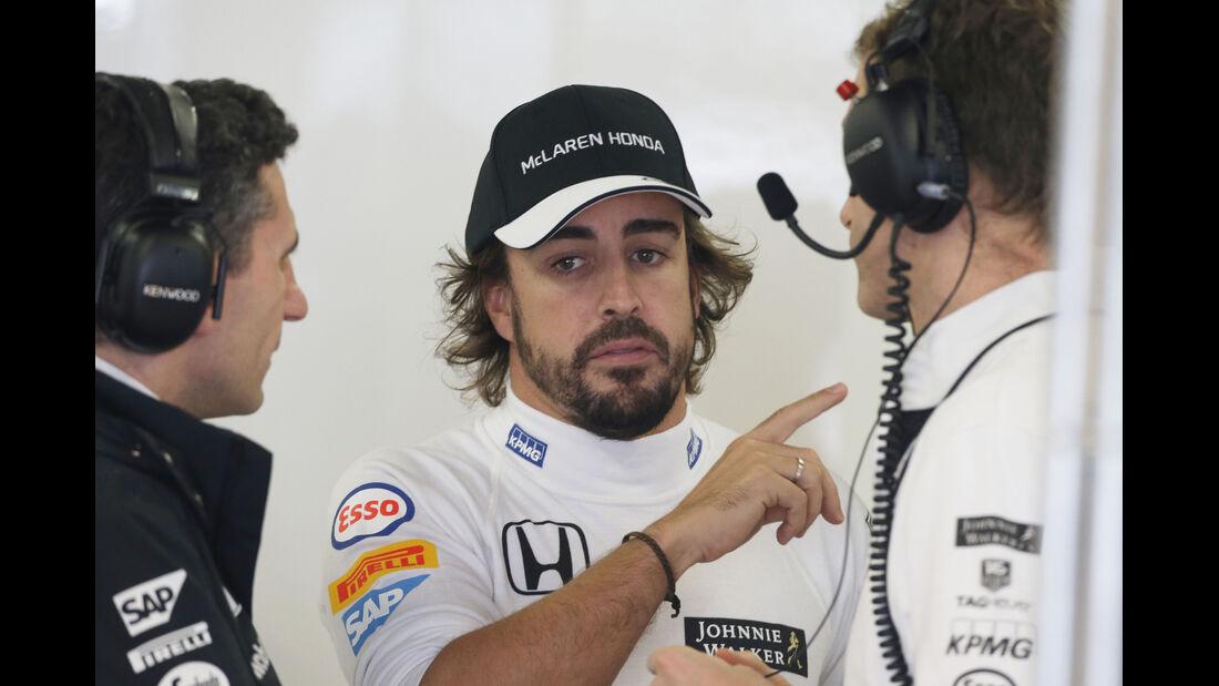 Fernando Alonso - McLaren - Formel 1 - GP Japan - Suzuka - 25. September 2015